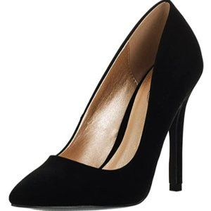 Women's closed pointed stiletto shoes